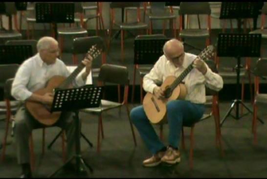 Esibizione in duo con Vincenzo Vallano, Palazzina Liberty di Milano, giugno 2011